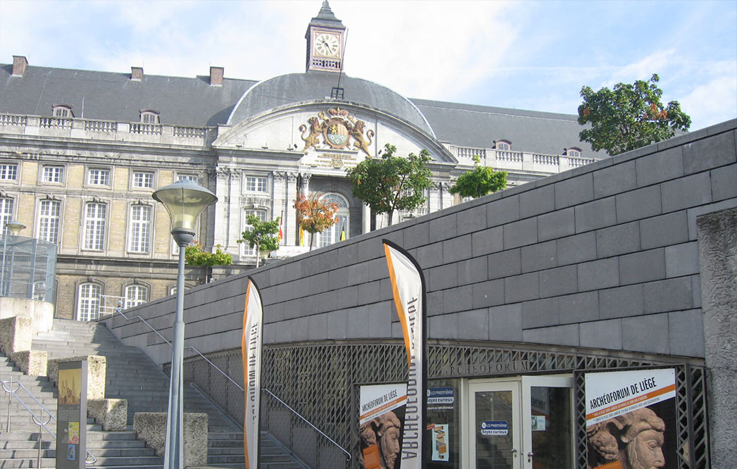 3D Experience in the Archeoforum of Liège